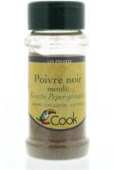 Cook Zwarte peper gemalen 45 Gram
