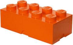 Lego Opbergbox Brick 8 - 50 cm x 25 cm x 18 cm - Oranje
