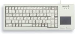Grijze CHERRY XS Touchpad USB QWERTY Amerikaans Engels Grijs toetsenbord