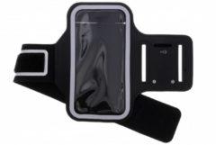 Zwart Sportarmband Samsung Galaxy S9 Plus - Zwart / Black