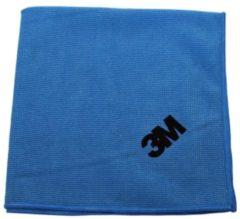 Blauwe 3M microvezeldoek blauw pak van 10 stuks