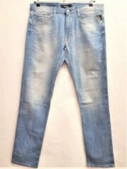 Blauwe Replay Anbas Jeans - C9 Bleach - W36 L32
