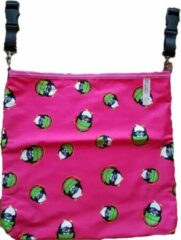 Fuchsia Giggles 'n Grumbles Giggles 'n Grumbles HotchPotchPouch – Kinderwagentas Universeel - Roze Penguins
