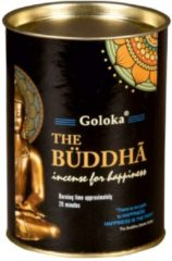 Zwarte Attitude Holland Goloka The Buddha Backflow wierook Kegels (24 cones)