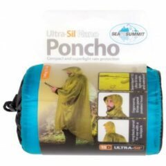 Sea to Summit - Poncho 15D - Hardshelljack maat One Size wit/grijs