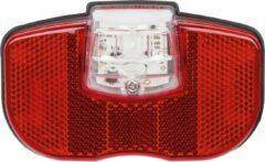 Smart achterlicht Standlight dynamo led rood/zwart