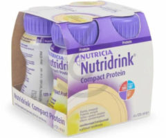 Nutricia Nutridrink Compact Protein Vanille 4 x 200 ml
