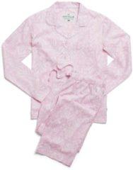 Rosa Webpyjama, geknöpft rayville floral-pink