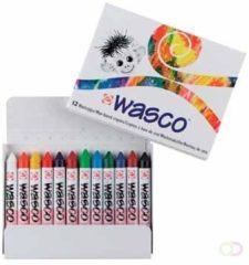 Royal Talens Wasco set 12 kleuren krijtjes waskrijt waspastels