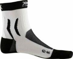 Witte X-Socks Bike Pro Mid Men Socks - Black/White - 42-44