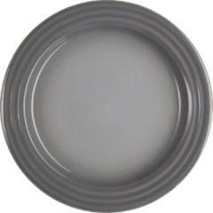 Grijze LE CREUSET - Aardewerk - Ontbijtbord 22cm Mist Grey