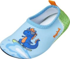 Playshoes - Uv-waterschoenen voor jongens - Dino - Lichtblauw/Groen - maat 26-27EU