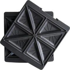Zwarte Solis Sandwich platen Grill & More - 2 Stuks