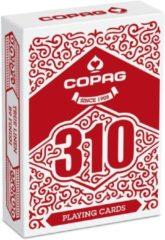 Copag speelkaarten 310 The Core goochelaars rood 55-delig