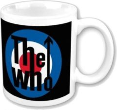 Zwarte Rock Off The Who - Target Logo Bedrukte Mok Beker