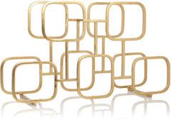 Gouden XLBoom Gavin wijnrek van staal 5 flessen