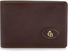 Bruine Castelijn & Beerens Gaucho Creditcard Etui 6 Pasjes RFID Mocca