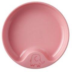 Roze Mepal Mio – Oefenbord – mag in de magnetron – Deep pink – anti-slip bodem – Kinderbord – kinderservies