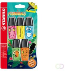 Markeerstift STABILO boss mini funnimals edition blister