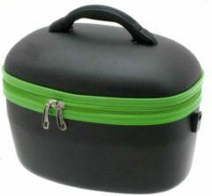 Merkloos / Sans marque Beauty case zwart /groen van het merk Davidts