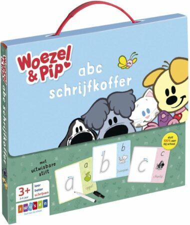 Afbeelding van Uitgeverij Zwijsen Woezel & Pip - Woezel & Pip abc schrijfkoffer
