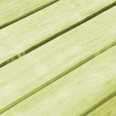 Groene VidaXL Tuinbank 170 cm FSC gempregneerd grenenhout