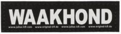 JULIUS K9 LABELS VOOR POWER-HARNAS VOOR HOND/TUIG VOOR WAAK #95; LARGE