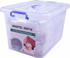 SnuffelStore Koffie Pads - Strong - geschikt voor SENSEO machine - VOORDEELVERPAKKING (6 x 50) 300 stuks - met opbergbox