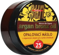 Vivaco SUN Zonnebrandcrème met Arganolie en Beta-caroteen SPF25 - 200ml