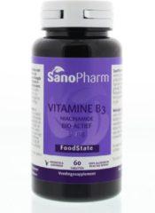 SanoPharm Vitamine B3 (Nicotinamide) 50 mg 60 tabletten