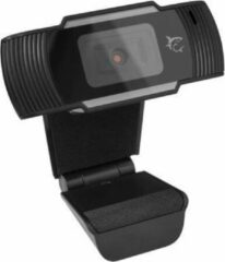 White Shark Cyclops Webcam Full HD 1080p met Microfoon - Zwart