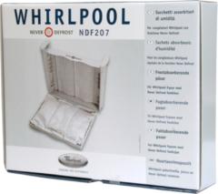 Universeel WPRO Feuchtigkeitabsorber Beutel für Gefrierschrank Whirlpool (3 Säckchen) für Gefrierschrank 481281719244, NDF207