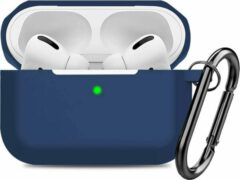 YONO Airpods Pro Hoesje - Siliconen Soft Case – Donkerblauw