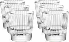 Vidivi 18x Drinkglazen/waterglazen Diva transparant 300 ml - Koffie/thee glazen Diva 300 ml