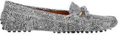 Grijze Manfield x Annic - Dames - Cheetah suède loafers - Maat 39