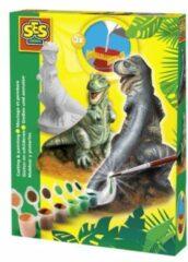 SES Creative gips gieten en schilderen T-Rex