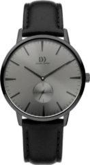Zwarte Danish Design watches edelstalen herenhorloge Akilia Second All Grey IQ16Q1250