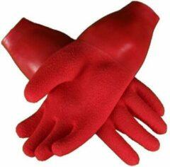 Procean Drooghandschoen met manchet Rood M