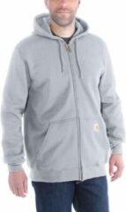 Carhartt - Zip Hooded Sweatshirt - Hoodie maat XL, grijs/zwart/grijs/zwart/zwart/purper/blauw/beige/rood/blauw/zwar