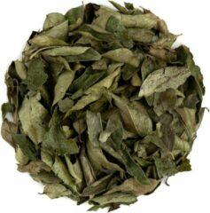 Valley of Tea Kerrie Blad Gedroogd Bio Kruid - Verse Kerrie Bladen Om Te Koken - Kerrie Uit India 100g