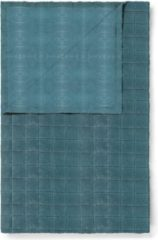 Blauwe Essenza Julia - Plaid - 150x200 cm - Denim
