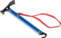Blauwe Bo Camp Bo-Camp - Hamer - Staal/Aluminium - Met Haringtrekker - 370 Gram