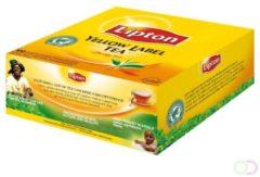 Thee Lipton Yellow label zonder envelop 100stuks