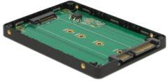 DeLOCK 2.5″ Converter SATA 22 pin > M.2 with Enclosure (62792)