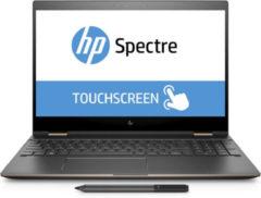 HP Inc HP Spectre x360 15-ch001ng 1.80GHz i7-8550U Intel® Core i7 der achten Generation 15.6Zoll 3840 x 2160Pixel Touchscreen Schwarz - Silber Hybrid (2-in-1