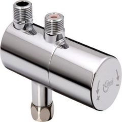 Ideal Standard centrale mengkraan opbouwouw Ceraplus, chroom, thermostatisch, 25-60°C
