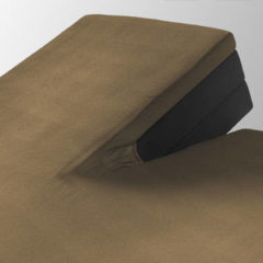Home care hoeslaken splittopper jersey 160 gr. 200x220 - taupe - 2-persoons (140 cm) - taupe