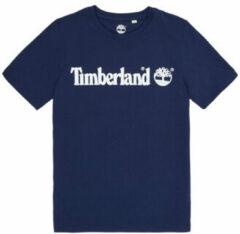 Blauwe T-shirt Korte Mouw Timberland VUILL