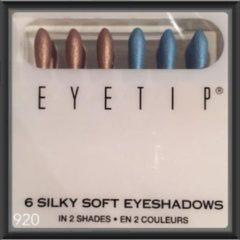 Blauwe Eyetip (set van 6) Kleur 920