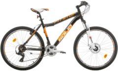 Bikesport 26 ZOLL MOUNTAINBIKE 21 GANG PITSTOP Herren schwarz